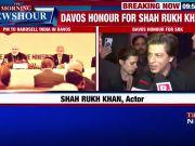 Shah Rukh Khan receives WEF's 24th Crystal Award in Davos