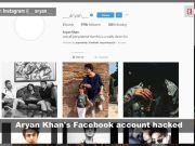 Shah Rukh Khan's son Aryan Khan's Facebook account hacked, alerts fans on Instagram