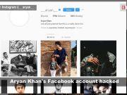 Shah Rukh Khan's son Aryan Khan's Facebook account hacked, alerts fans on Instagram