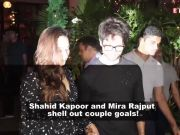 Shahid and Mira look adorable as they enjoy time at a trampoline park