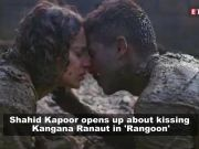 Shahid Kapoor on kissing Kangana Ranaut in 'Rangoon'; Ranveer Singh consoles Pakistani fan after India's win in World Cup 2019, and more