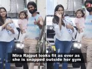 Shahid Kapoor's wife Mira Rajput is setting up fitness goals for all new-mommies in her latest photo