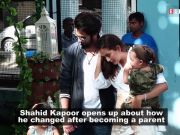 Shahid Kapoor talks about parenthood; says,'was selfish before becoming a parent'