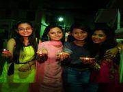 Shashtri Sisters celebrate Diwali on sets