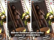 Shibani Dandekar sets cyberspace on fire with her latest pictures