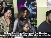 Shilpa Shetty, Raj Kundra come out in Shamita Shetty's support after she gets trolled for rude behaviour with fan
