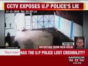 Shocking! CCTV footage exposes UP police's lie