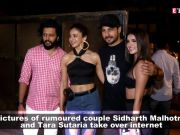 Sidharth Malhotra and Tara Sutaria party together at 'Marjaavaan' wrap-up party
