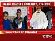 Small fans queue up to meet Rajinikanth in Uttarakhand's Dwarahat