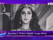 Sonarika Bhadoria's 'Prithvi Vallabh' to go off-air