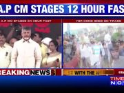 Special status row: Andhra Pradesh CM sits on 12-hour fast