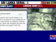 Sri Lanka terror attack: PM Modi tweets support of serial blasts, condemns attacks