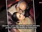 Sridevi's last photo on her Instagram is heart touching!