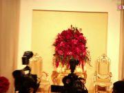 Stage all set for Deepika Padukone, Ranveer Singh's wedding reception