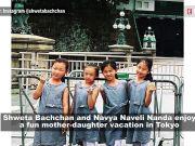 Stylish mother-daughter duo Shweta Bachchan and Navya Naveli Nanda have a blast soaking in Japanese culture in Tokyo