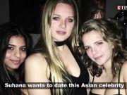 Suhana Khan reveals whom she wants to date