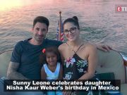 Sunny Leone celebrates daughter's birthday in Mexico, shares emotional post