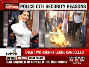 Sunny Leone's New Year show in Bengaluru cancelled