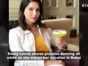 Sunny Leone shares pictures of herself enjoying vacation in Dubai