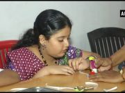 Surat: Differently-abled kids make rakhis ahead of Rakshabandhan