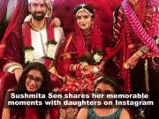 Sushmita Sen shares adorable moments with daughters from brother Rajeev Sen's wedding