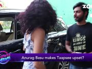 Taapsee Pannu miffed with Anurag Basu?