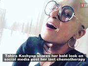 Tahira Kashyap shares her bald look post her last chemotherapy