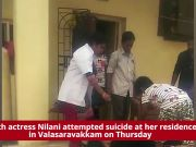 Tamil TV actress Nilani attempts suicide, hospitalised