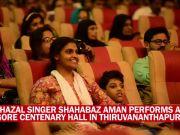 Thiruvananthapuram: Ghazal singer Shahabaz Aman performs for a noble cause
