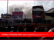 Thiruvananthapuram: Major fire breaks out in shop at East Fort