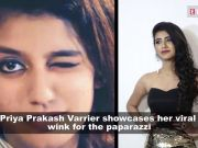 This happens when you ask Priya Prakash Varrier to repeat the viral wink sequence