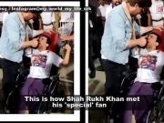 This is how Shah Rukh Khan met his 'special' fan; Sapna Choudhary's photo with Manoj Tiwari goes viral, and more