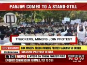 Thousands protest against mining ban in Goa