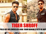 Tiger Shroff pulls off his chiselled look from Baaghi 3 sets in Jaipur