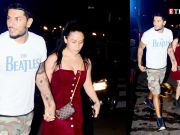 Tiger Shroff's sister Krishna Shroff and Eban Hyams walk hand in hand post dinner date