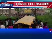 Train hits school van at unmanned railway crossing in Kushinagar, 13 children killed