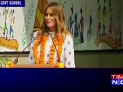 Trump in India day 2: FLOTUS Melania addresses the Delhi Govt school