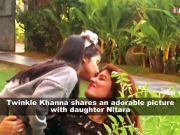 Twinkle Khanna shares adorable picture with Nitara, captions wittily