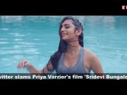 Twitteratis slam 'wink girl' Priya Prakash Varrier's debut Bollywood film 'Sridevi Bungalow', call it 'rubbish'