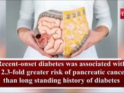 Type 2 diabetes could be a warning sign for pancreatic cancer