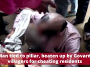 UP: 45-year-old man tied to pillar, beaten up by Govardhan villagers for cheating residents