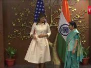 US envoy Nikki Haley meets Sushma Swaraj