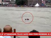 Uttarakhand cop saves man from drowning in Haridwar