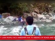 Uttarakhand: No road link to 8 Uttarkashi villages, residents suffer