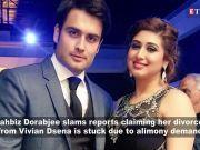 Vahbiz Dorabjee clarifies about rumours claiming her divorce from Vivian Dsena is stuck due to alimony demand