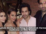 Varun Dhawan addresses Sonakshi Sinha as 'Bhabhi'