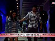Varun Dhawan and rumoured girlfriend Natasha Dalal spotted on a dinner date