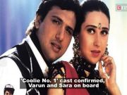 Varun Dhawan and Sara Ali Khan to star in the remake of 'Coolie No. 1'