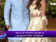 Varun Dhawan postpones his wedding with Natasha Dalal?