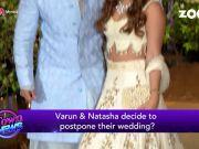 Varun Dhawan postpones his wedding with Natasha Dalal?